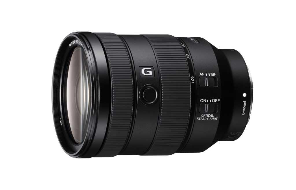 Sony 全新 FE 24-105mm F4 G OSS 標準變焦鏡頭