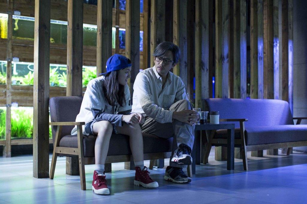 天才演員文淇(左)演出叛逆少女 與鄧超(右)有許多對手戲