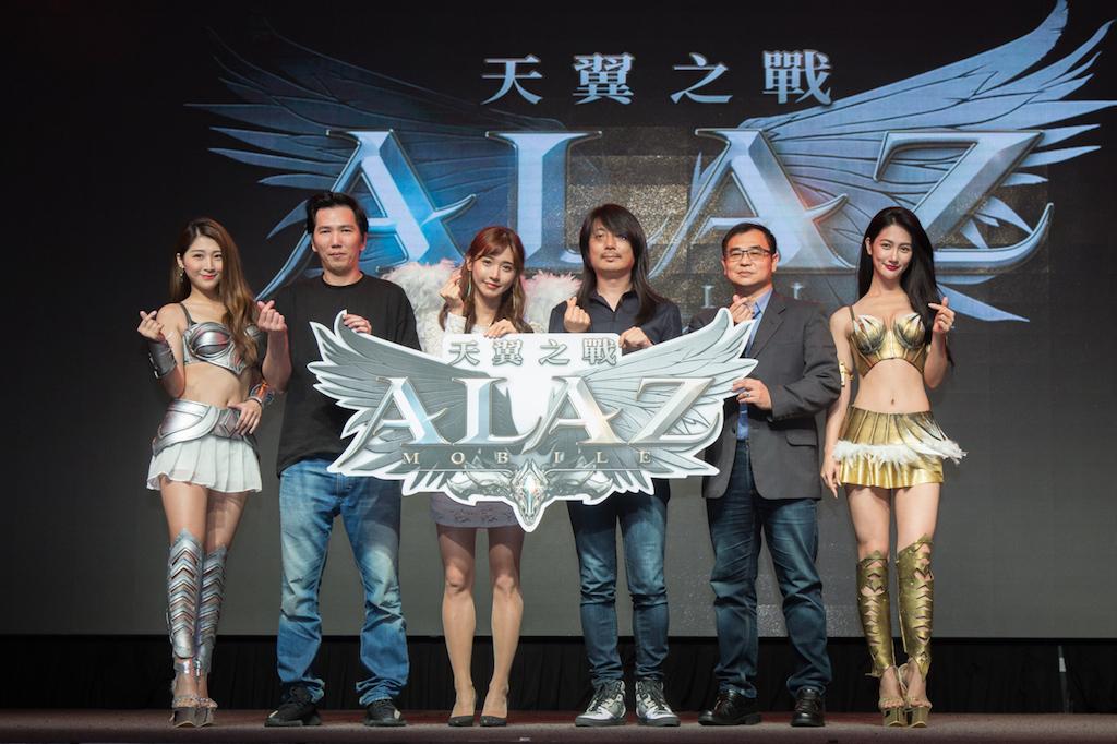 韓國3A級製作人池龍燦x韓國實況女神企鵝妹為《ALAZ 天翼之戰》重磅宣告4/25公測消息