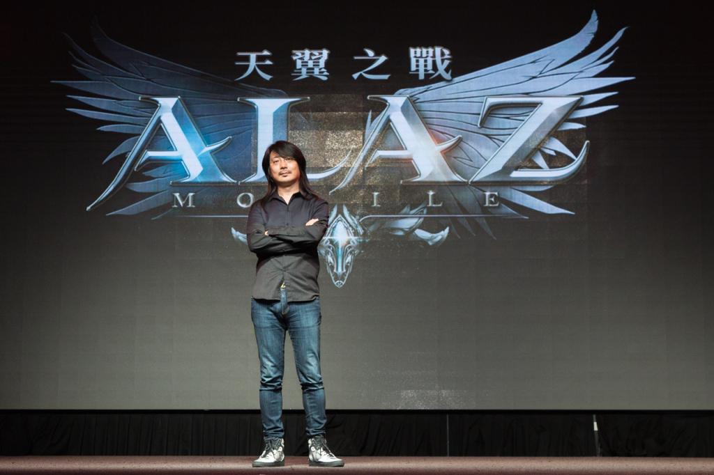 韓國3A級遊戲製作人「池龍燦」為《ALAZ 天翼之戰》特地來台參與媒體見面會