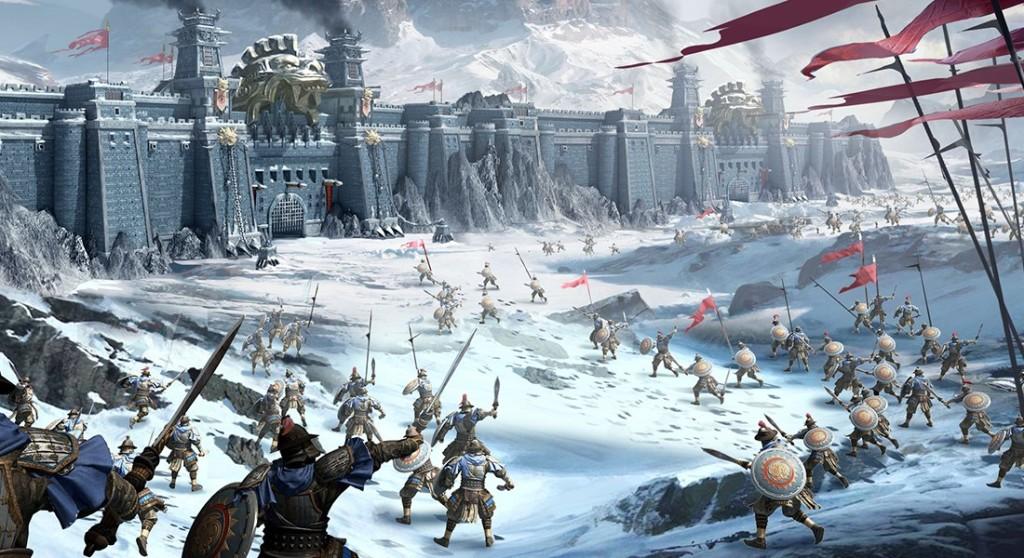 圖5:三國著名戰役經典再現,同時和全亞洲玩家逐鹿中原,爭霸亂世!