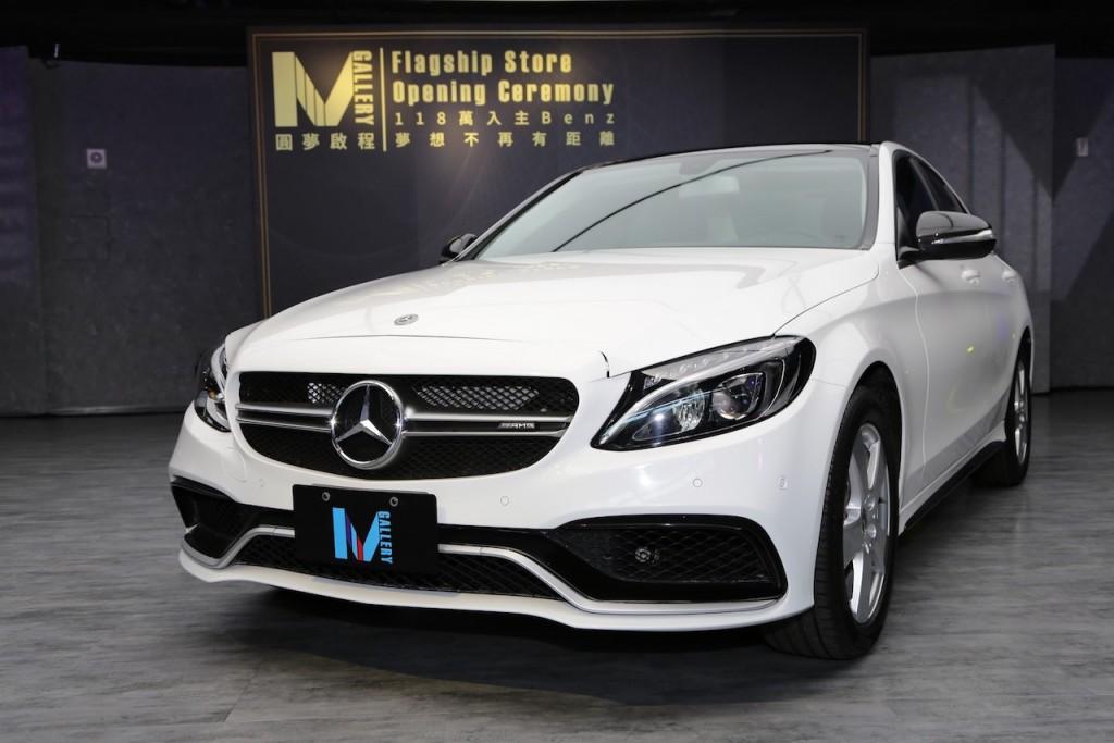 「圓夢啟程」優惠方案-118萬即可輕鬆入主Mercedes-Benz C180