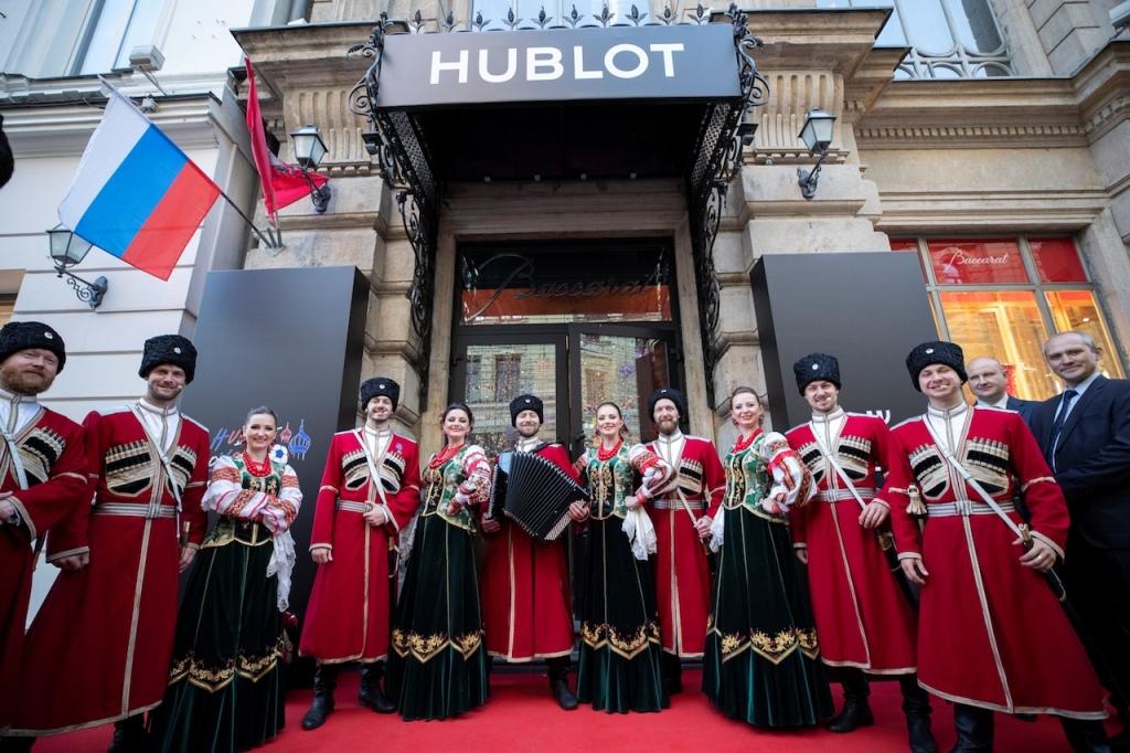 宇舶錶在俄羅斯舉行2018FIFA 世足賽開賽派對