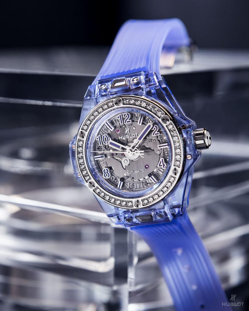 Big Bang One Click藍色藍寶石腕錶NTD2,453,000