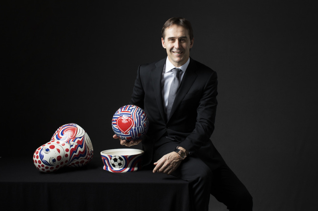 西班牙國家隊總教練-洛佩特吉 Julen Lopetegui 為了成為冠軍,你必須將足球踢得很好,你必須擁有卓越的心態,當然,運氣也是很重要的。