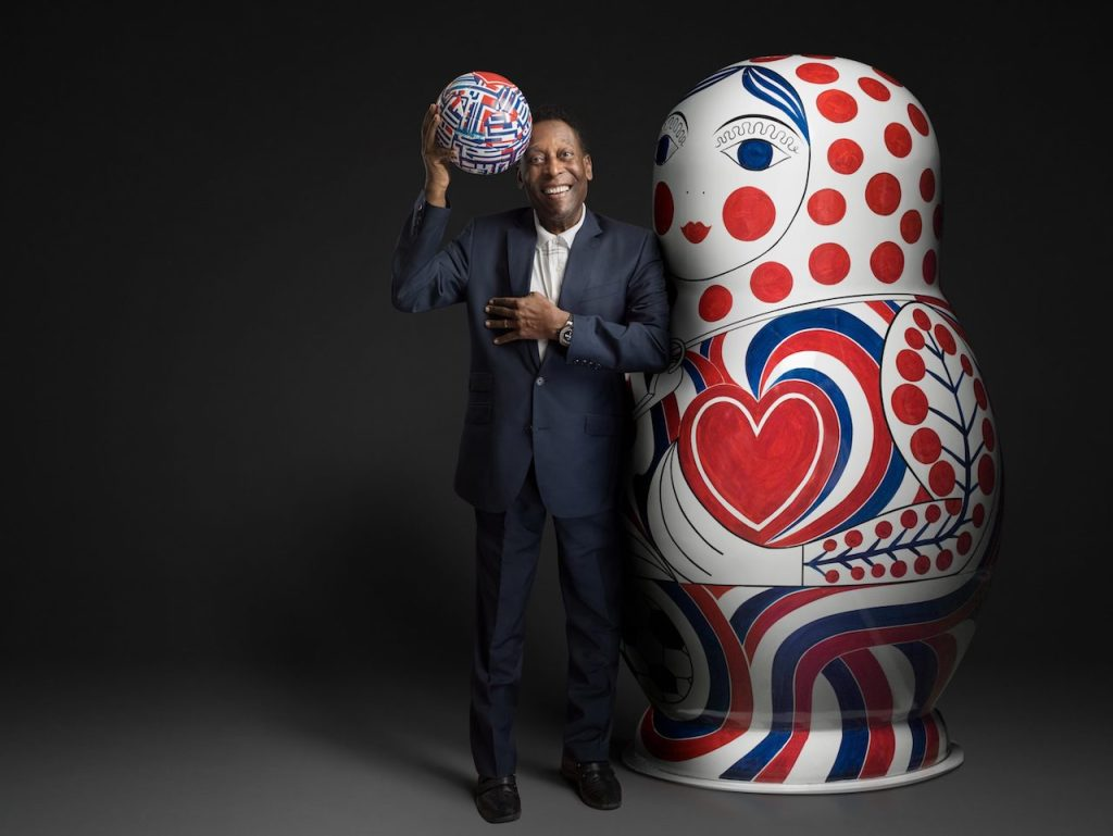 世界球王比利 Pelé –宇舶錶大使 為了成為冠軍,你必須敬重其它人,而且千萬不要以為自己才是最強的。