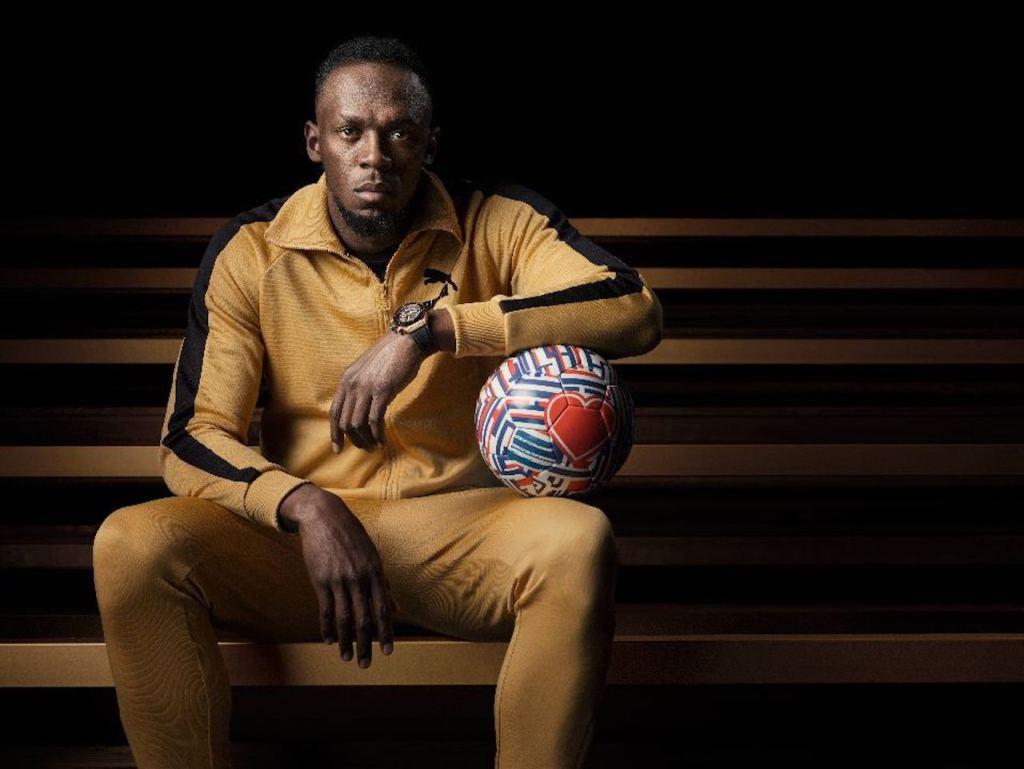 短跑天王博爾特 Usain Bolt–宇舶錶大使 成為冠軍,你必須付出努力、全心投入、犧牲奉獻,專注在你為自己設定的夢想與目標。