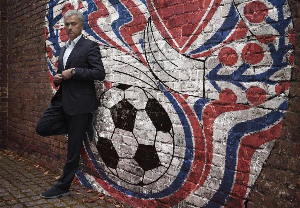 超級教練穆里尼奧 Mourinho–宇舶錶大使 為了成為冠軍,你需要天份、信仰和犧牲。