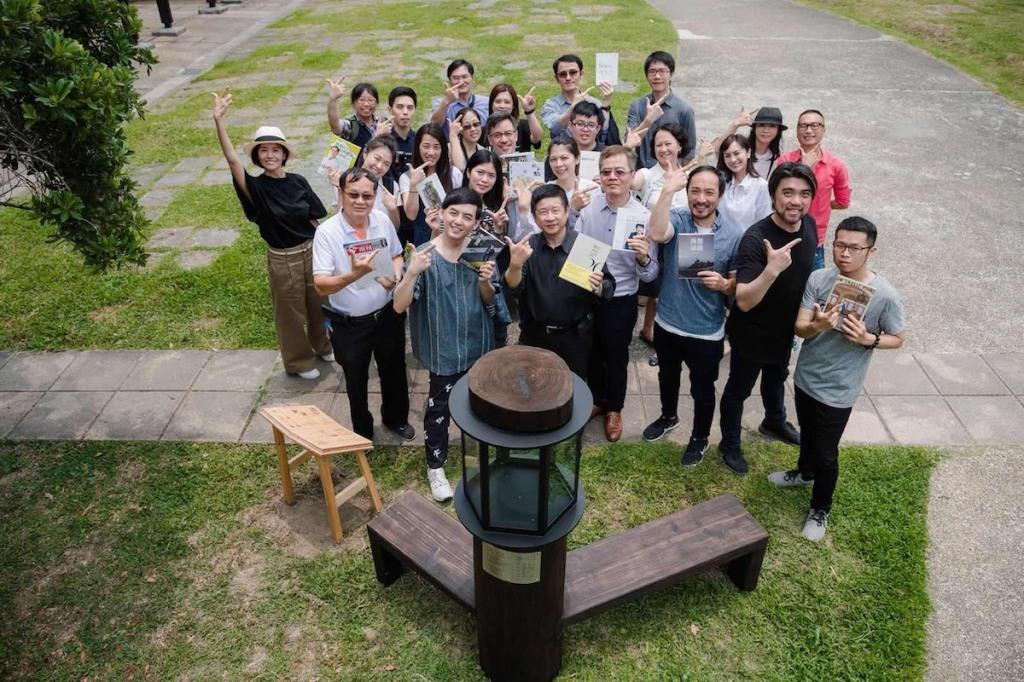 台北市中山區林森公園書席「時間力量」