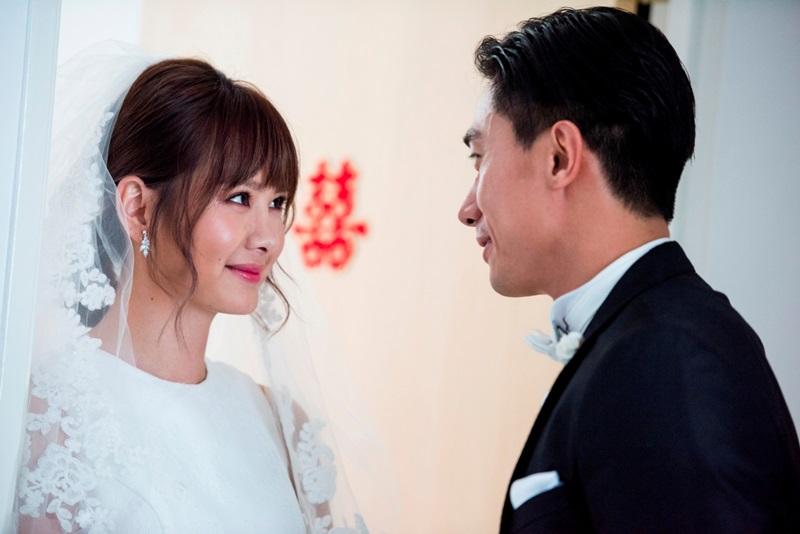 女神安心亞首度披上婚紗當新嫁娘遠嫁新加坡的陳炯江 兩人要辦婚禮卻遇上各種波折