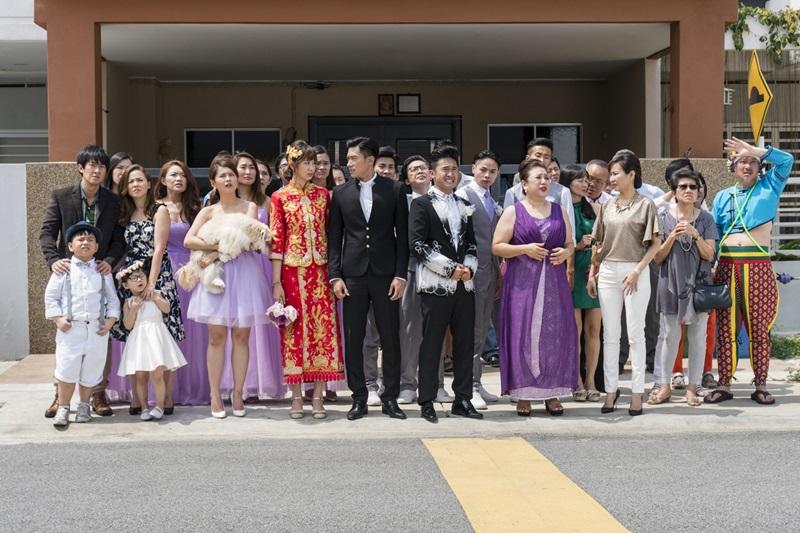 安心亞和陳炯江的婚禮 有各種意外衰事連連降臨