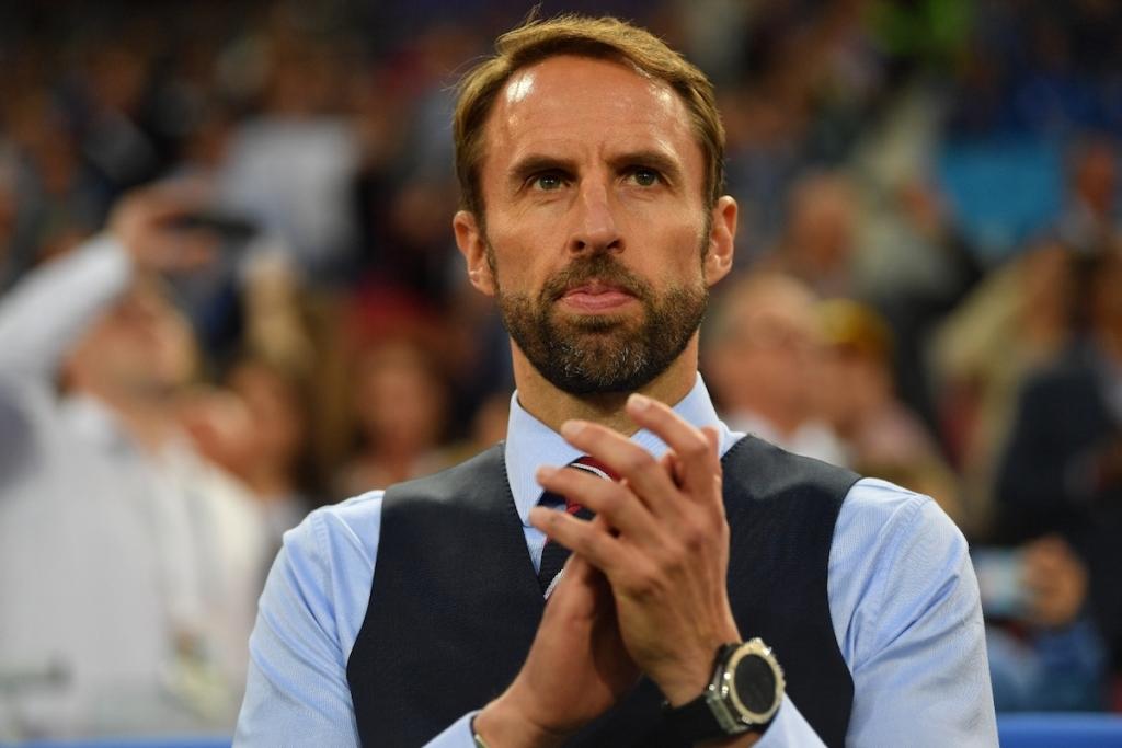 英國隊總教練配戴Big Bang 2018 世足賽官方腕錶