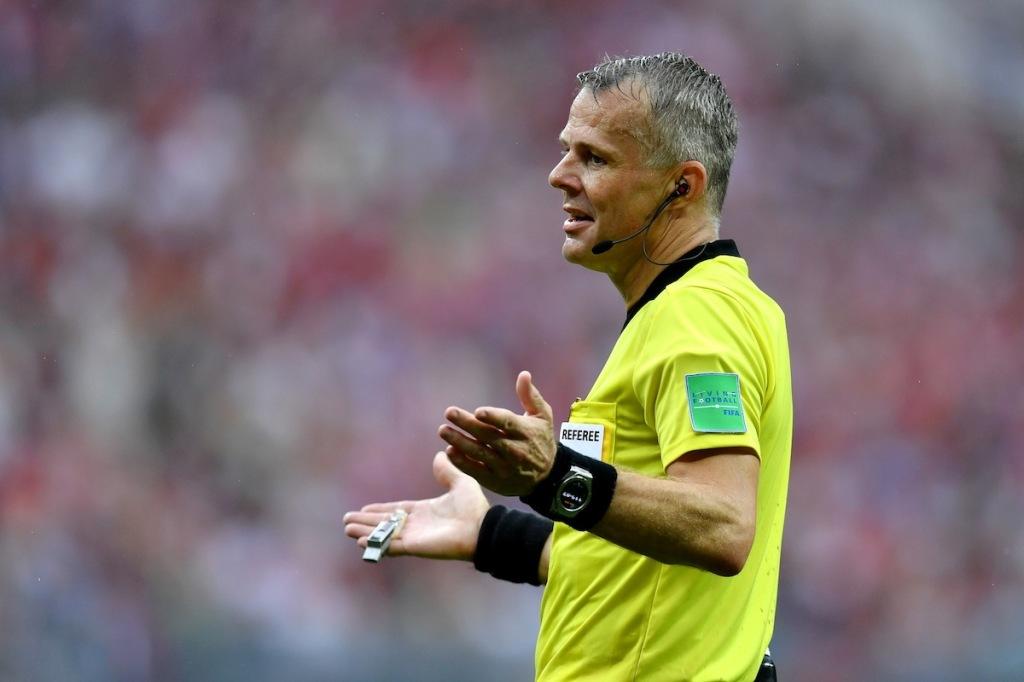 Björn Kuipers - FIFA 世足賽裁判 配戴Big Bang 2018 世足賽官方腕錶