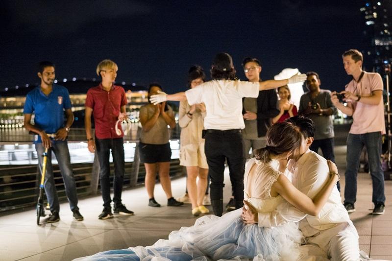 安心亞與陳泂江拍《簡單的婚禮》有多場親密吻戲3
