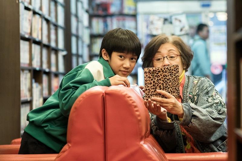 吳至璿首度拍電影就對戲影后鮑起靜 表現相當自然 備受稱讚