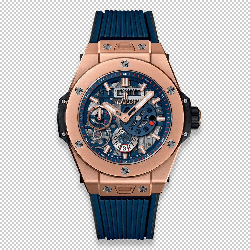 BIG BANG MECA-10 皇金藍腕錶NTD 1,273,000