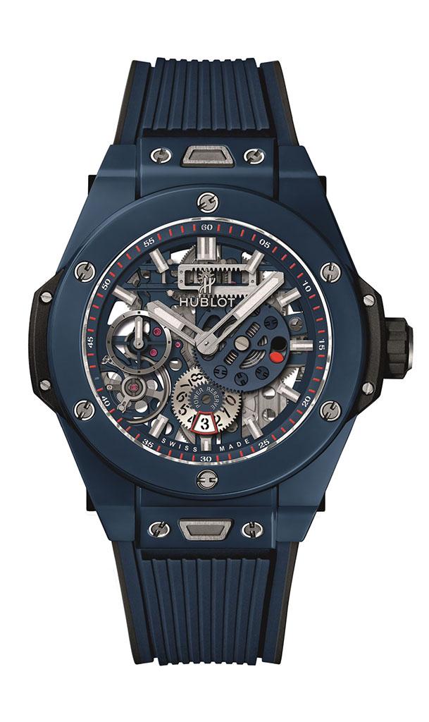 BIG BANG MECA-10 藍陶瓷腕錶NTD 684,000