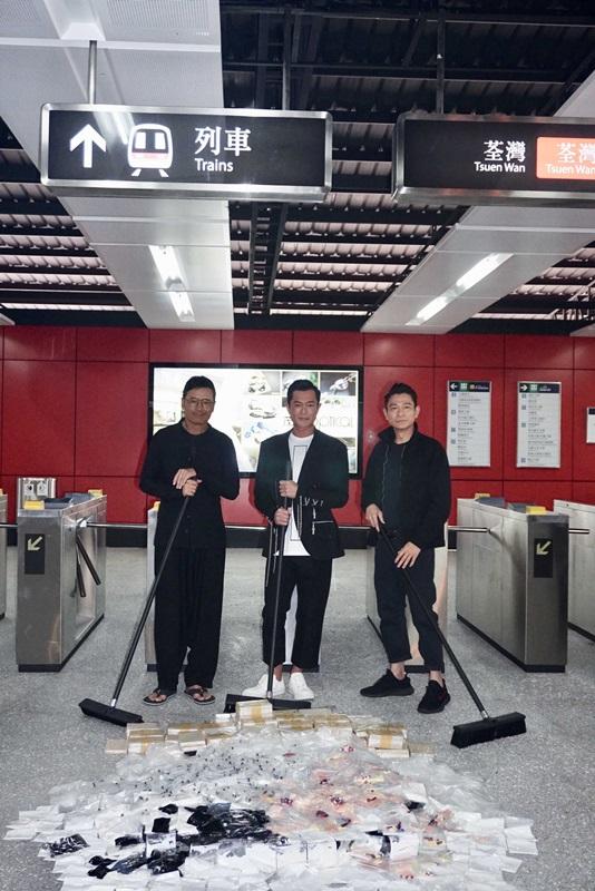 苗喬偉、古天樂、劉德華合作《掃毒2》