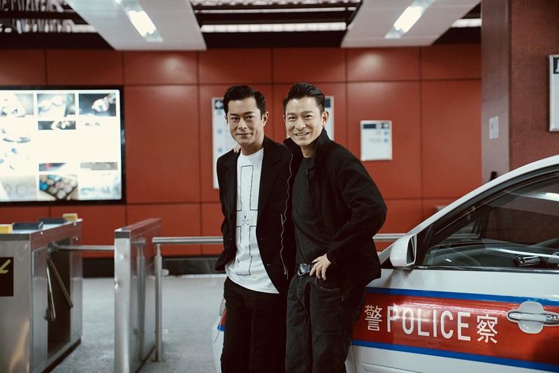 劉德華與古天樂在《掃毒2》中演出反派 更是好兄弟