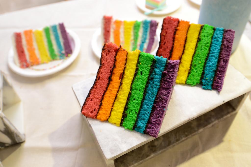 墨爾本布蕾斯咖啡廳 彩虹蛋糕 1