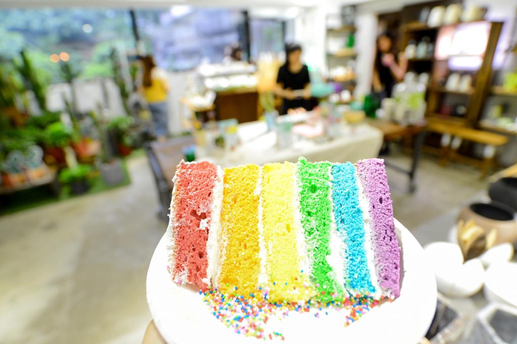 墨爾本布蕾斯咖啡廳 彩虹蛋糕 2