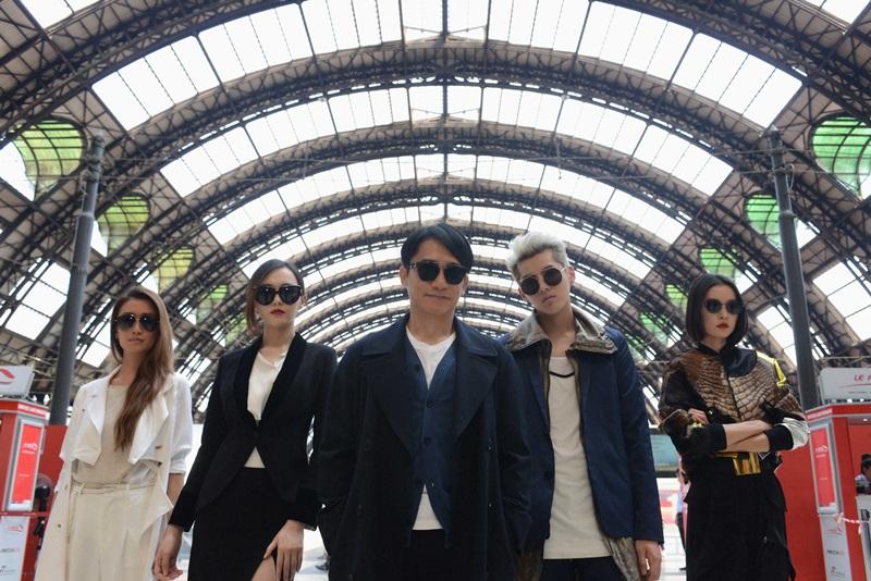 杜鵑(右起)、吳亦凡、梁朝偉、唐嫣組成高顏值特工團隊闖蕩歐洲