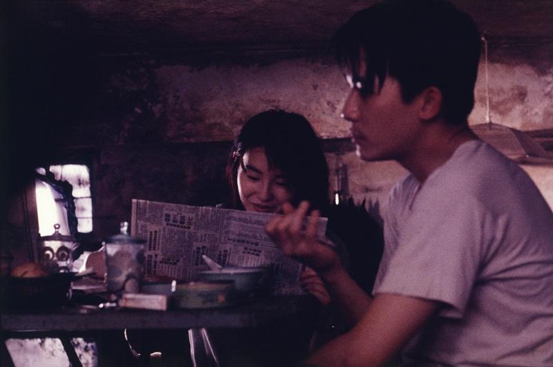 梁朝偉與張曼玉