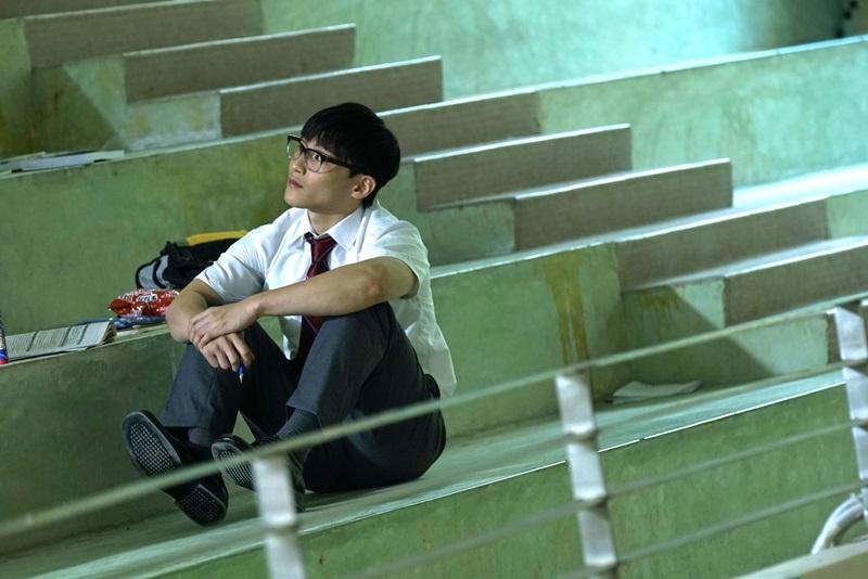 湯君慈在《大師兄》演出有「天生性專注力不集中」的問題學生2