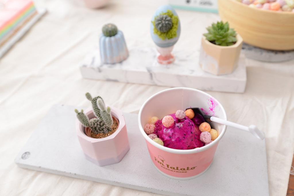 火龍果冰淇淋