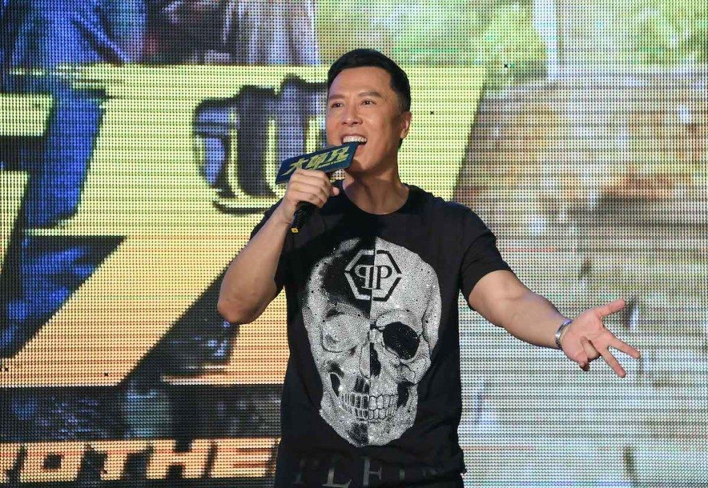 甄子丹再度來台 看到台灣影迷很熱情 心情很感動