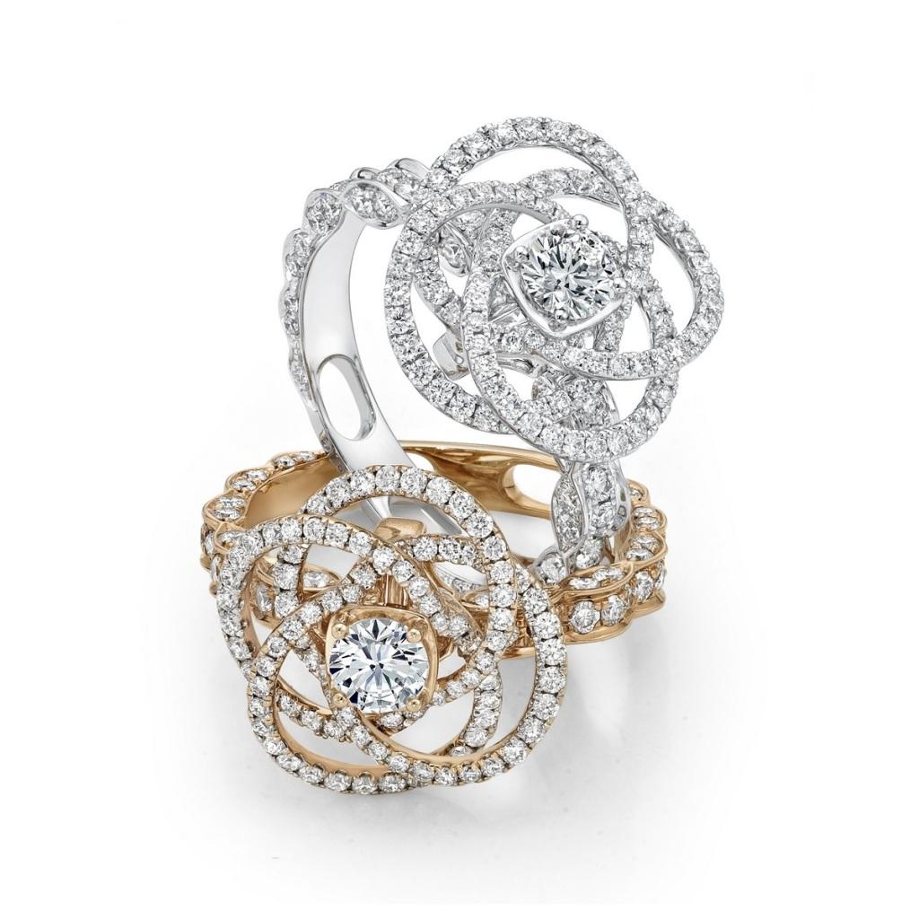 Peonia Diamond瑰麗花語鑽戒NT$175,800元起