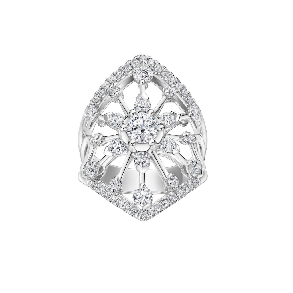 Peonia Diamond Starlight系列白鑽款鑽戒NT$278,200元起