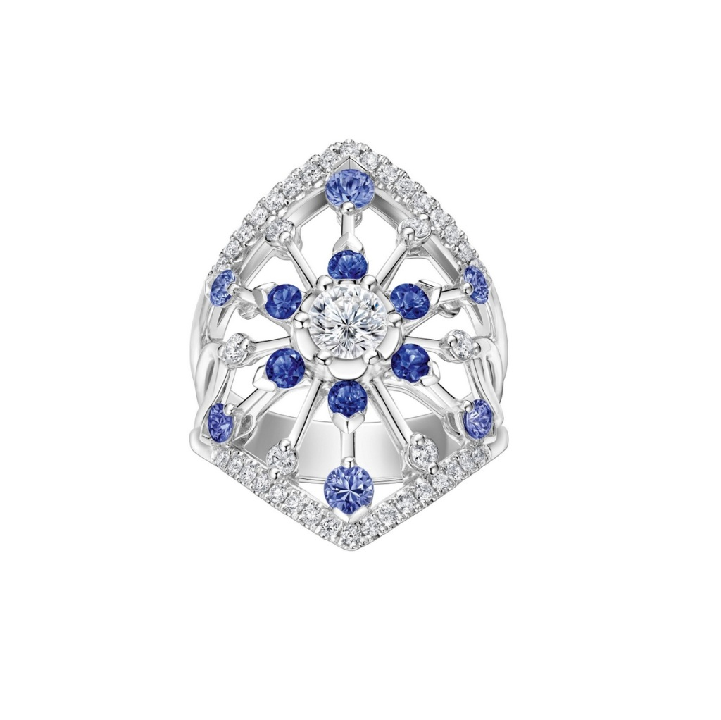 Peonia Diamond Starlight系列藍寶石款鑽戒NT$246,000元起