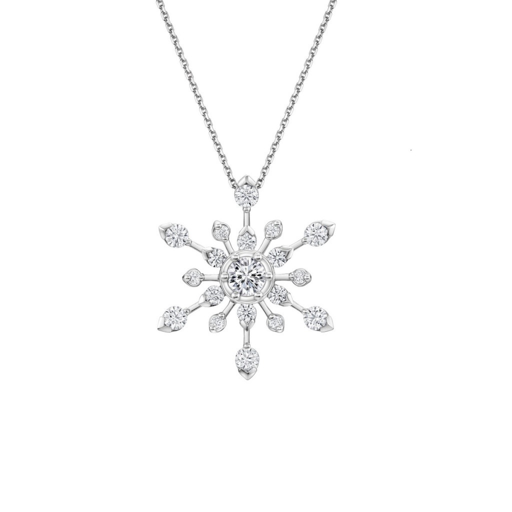 Peonia Diamond Starlight系列白鑽款鑽墜(不含鍊)NT$268,800元起