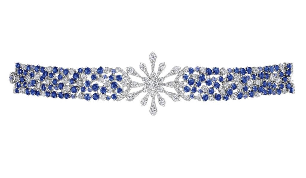 Peonia Diamond Starlight系列藍寶石款鑽石手鍊NT$989,000元起