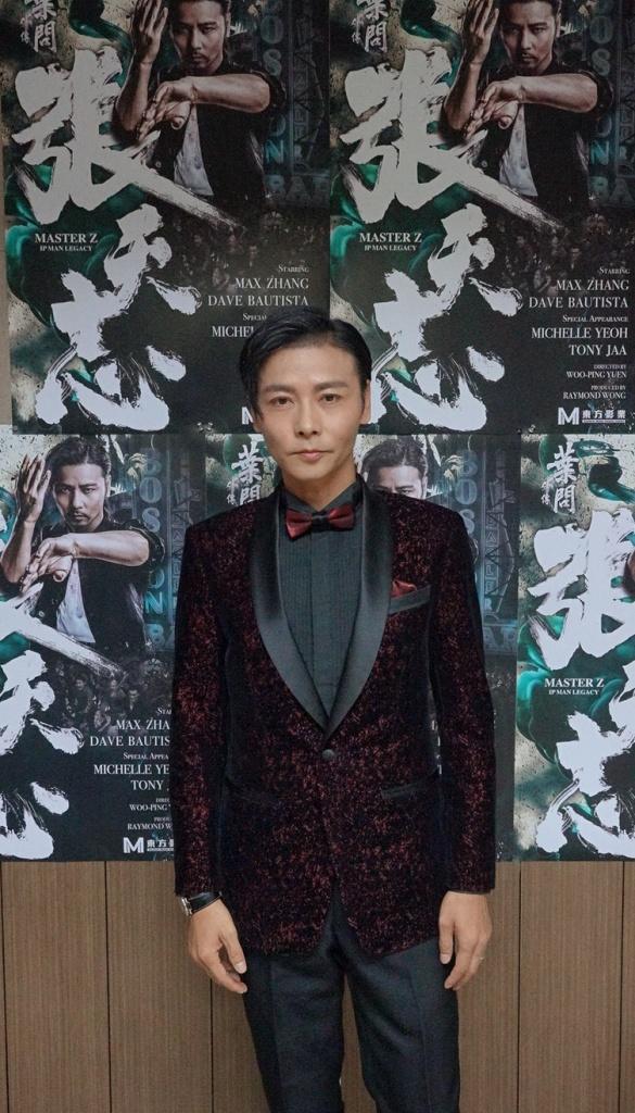 張晉在《葉問外傳-張天志》飾演張天志