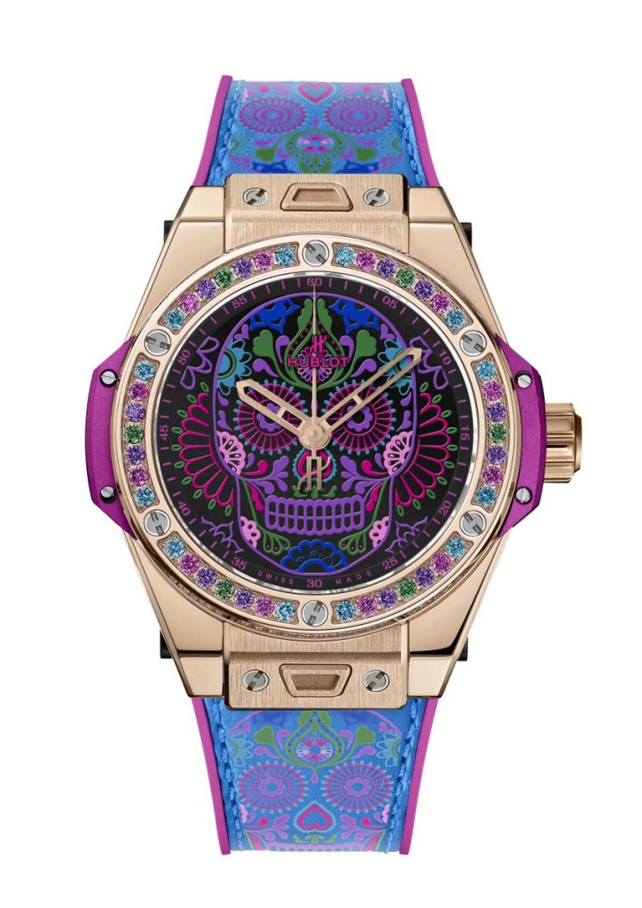 BIG BANG ONE CLICK CALAVERA (皇金)——全球限量50枚,NTD896,000 (3)