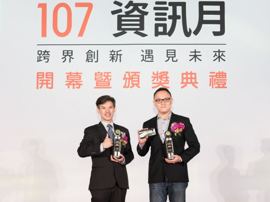 ROG Phone電競手機、ASUS ZenBook Pro 15筆記型電腦雙雙榮選百大創新產品金質獎。