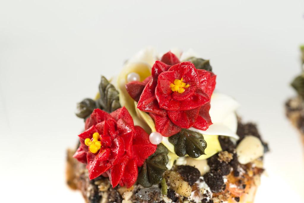 多肉擠花杯子蛋糕6