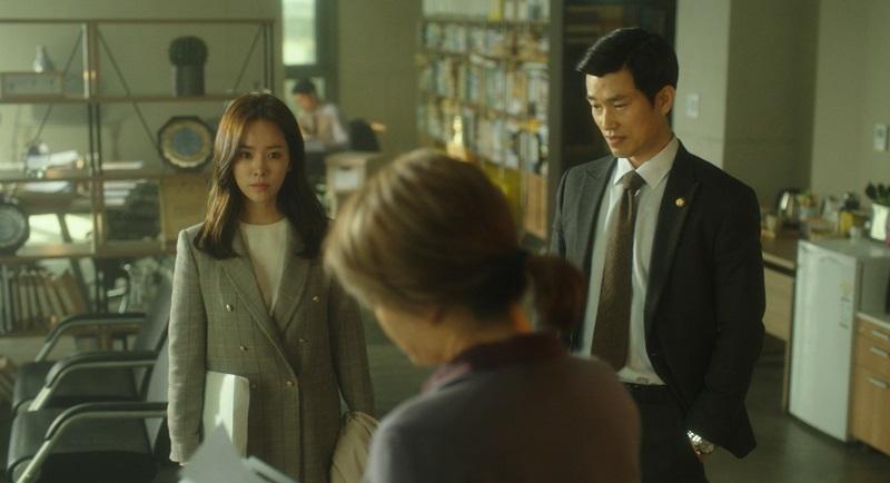 韓志旼與金憓秀對手戲