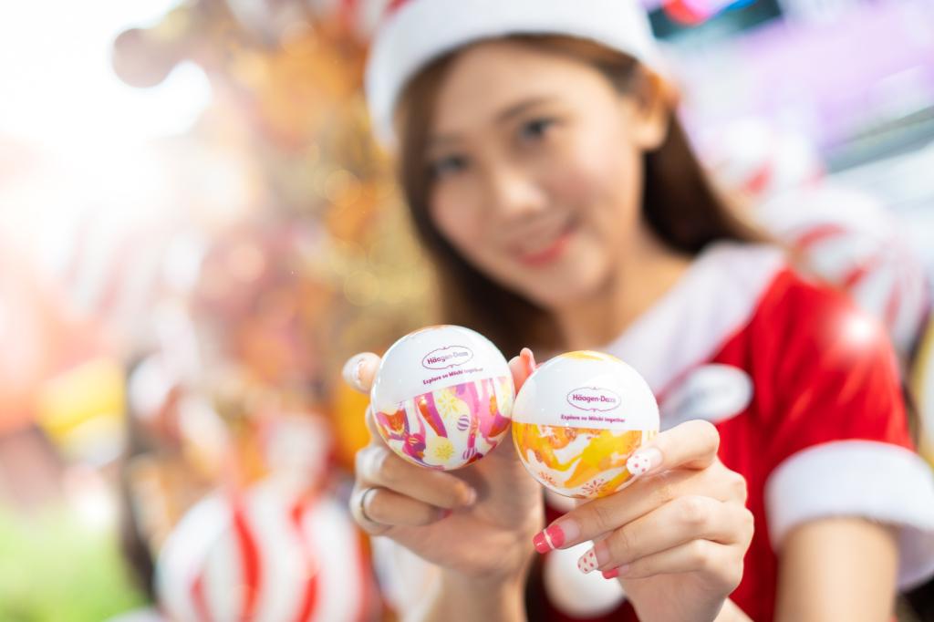 4. 交換完故事後,即可以獲得禮物「Häagen-Dazs聖誕驚喜彩蛋」,彩蛋裡面包含護照套、迷你杯券等多樣好禮。jpg