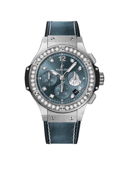 BIG BANG ZERMATT鑲鑽計時碼錶