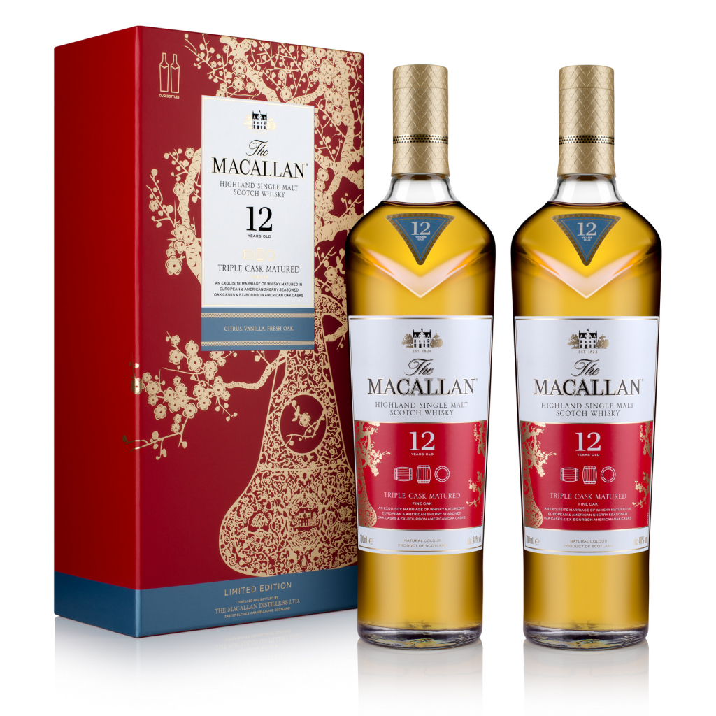 The_Macallan_CNY_12YO_Triple_Cask_Pack_45deg _with_Bottles
