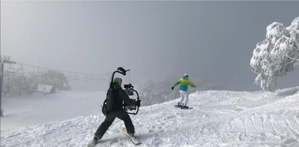 廉政風雲滑雪場面