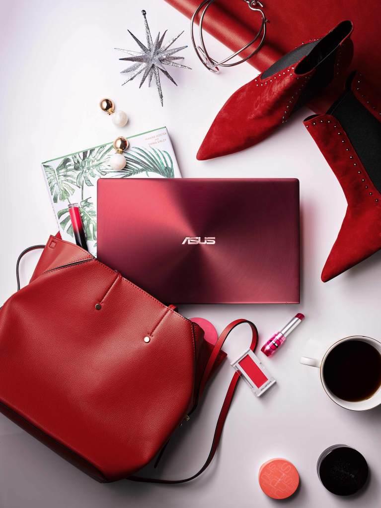 選在白色情人節,ASUS ZenBook 13勃艮第紅新色即日起上市,讓消費者擁有更多送禮選擇。