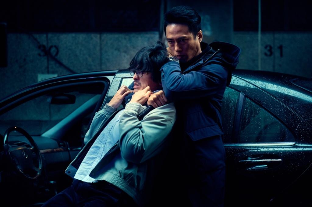 莊凱勛飾演刑警