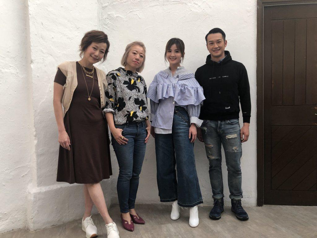 葉童、導演曾翠珊、蔡卓妍、吳浩康