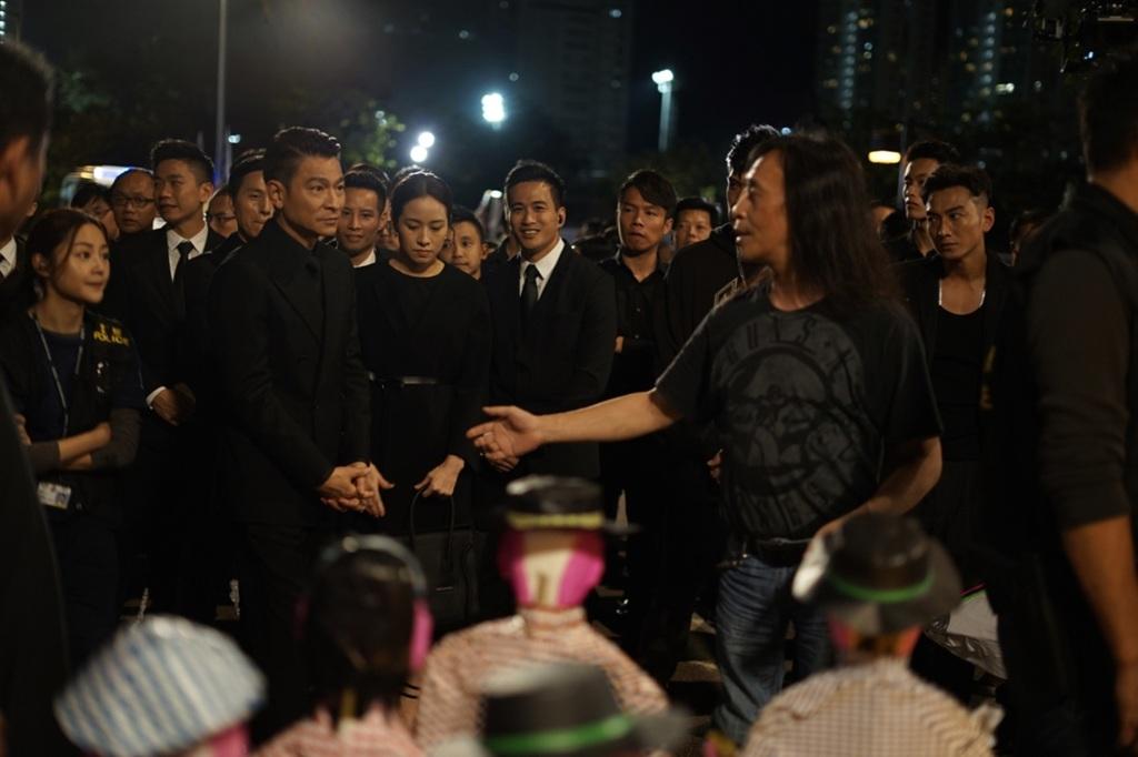 劉德華、林嘉欣、導演邱禮濤