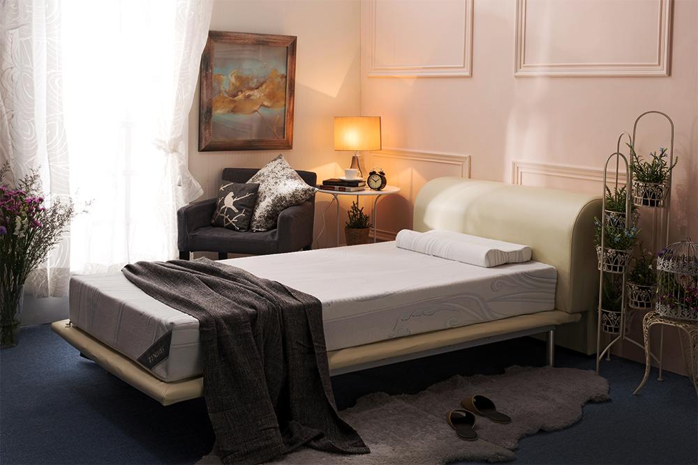 1.TENDAYs量身紓壓床TDN5R_單人20cm,原價58,000元 特價42,800元,加贈同款紓壓枕一顆,每櫃限量5組