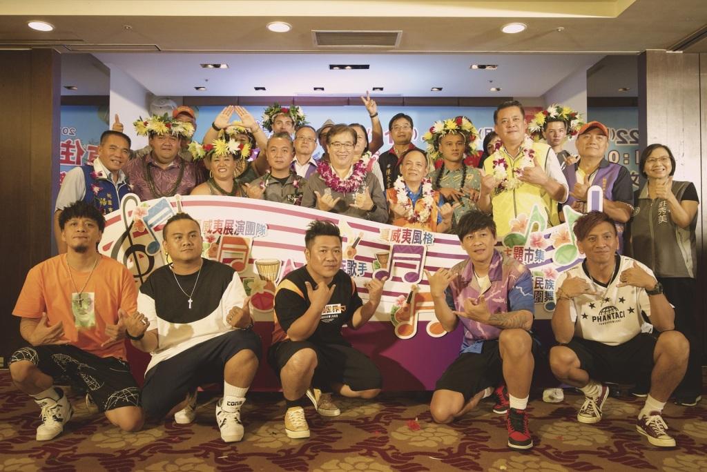 桃園市副市長游建華與夏威夷團隊及BOXING大合照